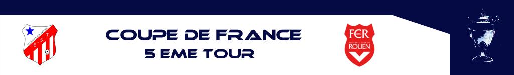 COUPE DE FRANCE: TOURVILLE SUR ARQUES/FCR