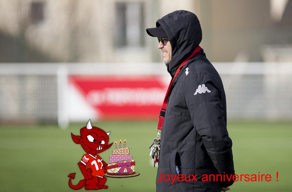 Bon anniversaire à notre coach !