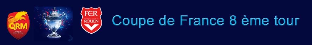 QRM / FCR CDF Samedi 13 février 19h…
